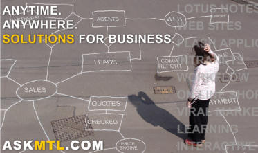 Anytime, Anywhere, Solutions for Business.  Just ASKMTL.COM!